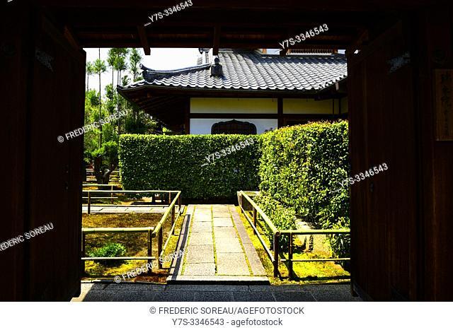 Daitoku-ji complex of Buddhist temple in Kyoto, Japan, Asia