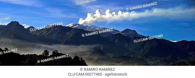 Nevado del Ruiz, Murillo, Tolima, Ibague, Colombia