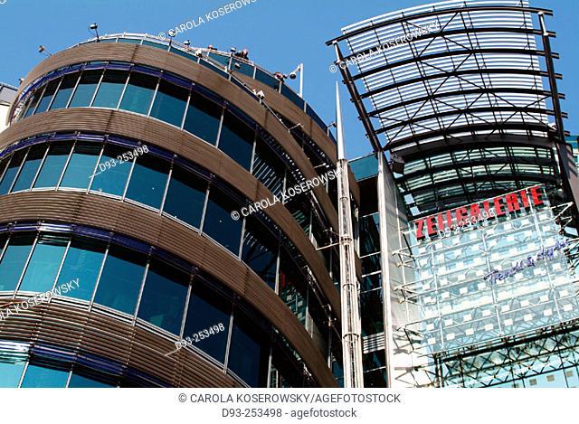 Modern architecture. Frankfurt am Main. Germany