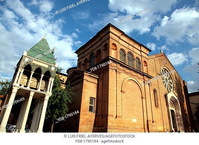 Basilica di San Domenico, Bologna, Emilia Romagna, Italy, Europe