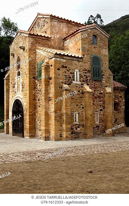 Church of San Miguel de Lillo, Oviedo, Asturias, Principality of Asturias, Spain, Europe