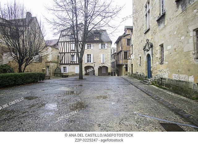 Bergerac is a commune and a sub-prefecture of the Dordogne department in southwestern France Aquitaine on December 6, 2018