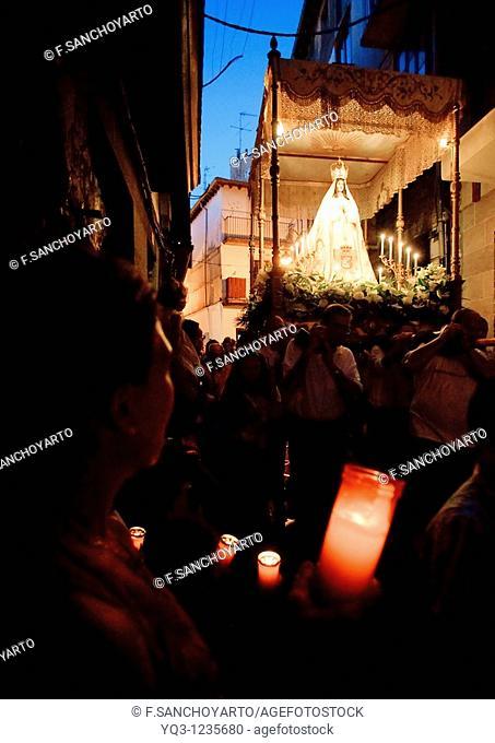Las Velillas procession, Castro Urdiales, Cantabria, Spain