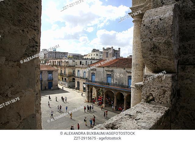 Views from Cathedraldel la Hababa in La Hababa Vieja, Havana, Cuba