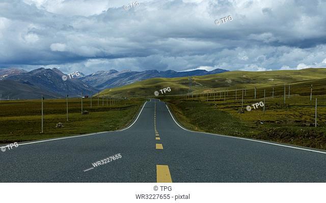 Ordinary road;Chengdu;China
