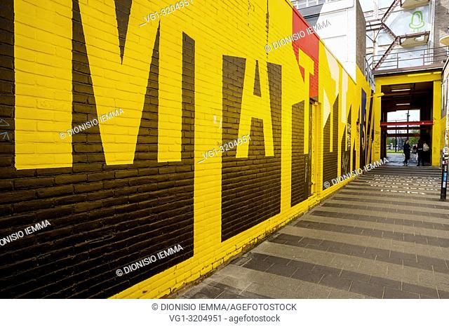 Rotterdam, Netherlands, Nederland, South Holland, Benelux, Europe, Street Art Route in Rotterdam Central District
