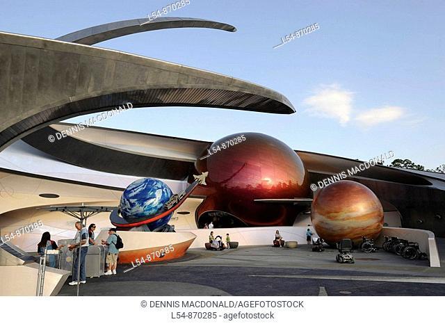Mission Space at Walt Disney World Epcot Theme Park Center Orlando Florida Central