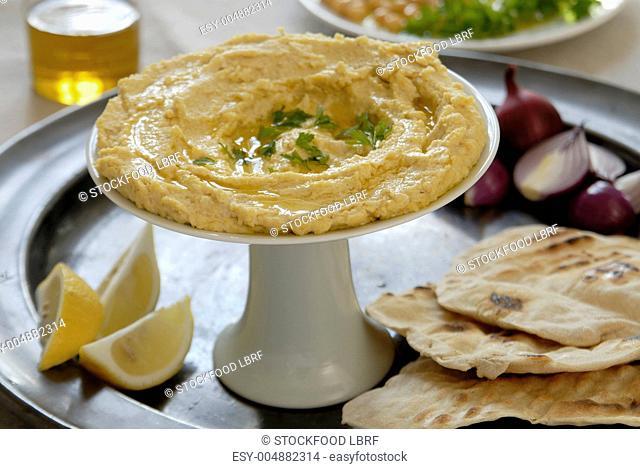 Baba ganoush Jewish aubergine paste