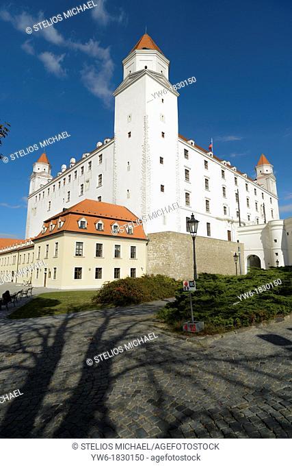 Bratislava Castle, Bratislava, Slovakia, Europe