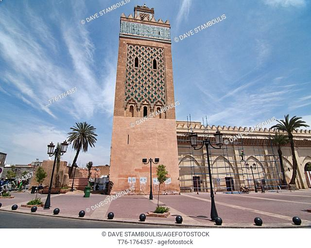 the Kasbah Mosque of Marrakech, Morocco