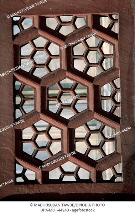 Taj mahal Seventh Wonder of The World ; Agra ; Uttar Pradesh ; India