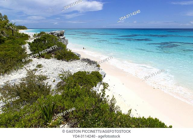 Lighthouse beach, South Eleuthera island, Bahamas