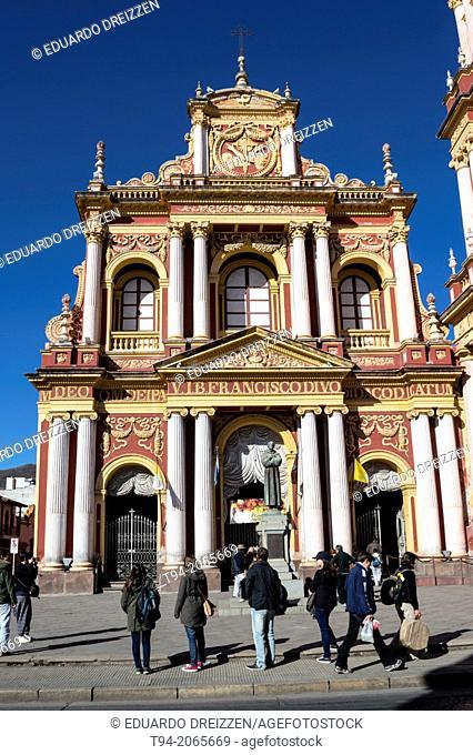 Church of San Francisco, City of Salta, Argentina