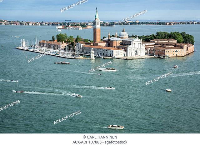 San Giorgio Maggiore, island in Venice lagoon, Italy
