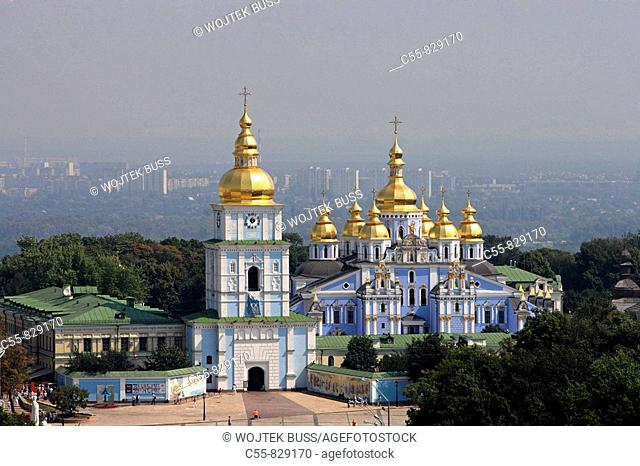 St Michael of the Golden Cupolas monastery,Kiev,Ukraine