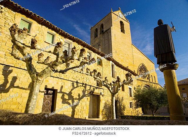 San Pedro church. Olite. Navarra. Spain