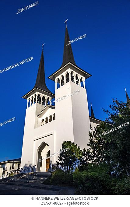 Hateigskirkja Church in Reykjavik, Iceland