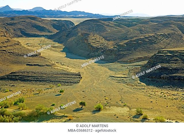 Africa, South Africa, Namaqua, Ai-Ais Richtersveld Transfrontier park, Richtersveld national park, Potjiespram, Oranje, border river, South Africa, Namibia