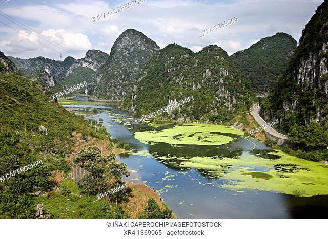Laguna, Longgong Dong area, Matou, Guizhou, China