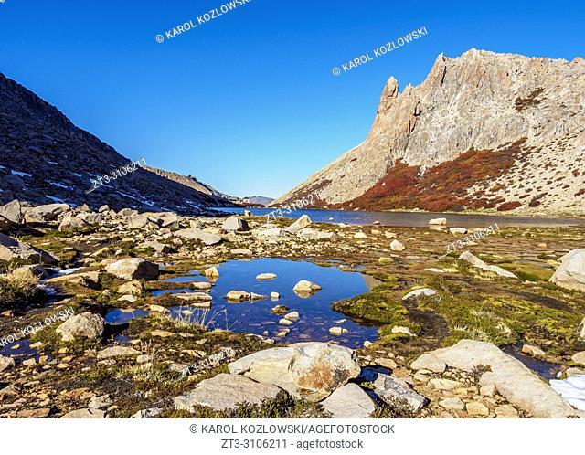 Toncek Lagoon, Nahuel Huapi National Park, Rio Negro Province, Argentina