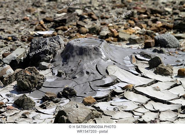 Mud Volcano in Baratang at Andaman India Asia