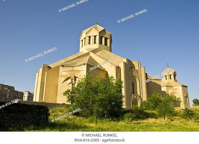 Surp Grigor Lusavorich Cathedral, Yerevan, Armenia, Caucasus, Central Asia, Asia