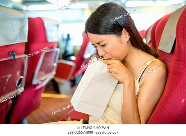 Image result for seasick stock photo