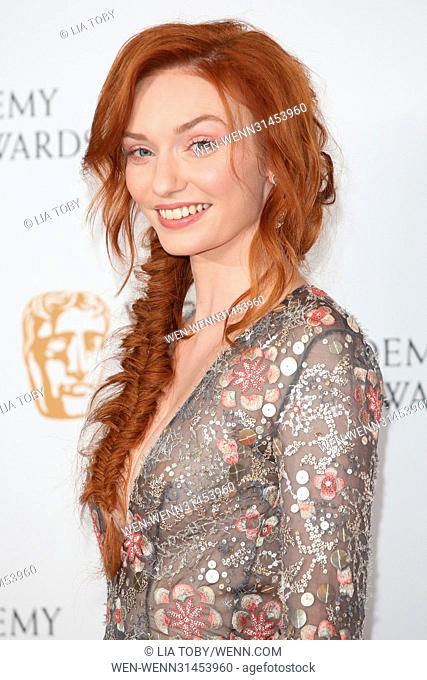 The Television BAFTA Awards 2017 - Winners Room Featuring: Eleanor Tomlinson Where: London, United Kingdom When: 14 May 2017 Credit: Lia Toby/WENN.com