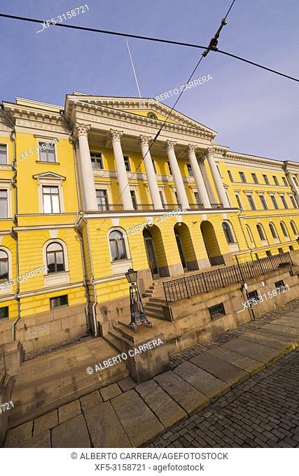 Government Palace, Senate Square, Helsinki, Finland, Europe
