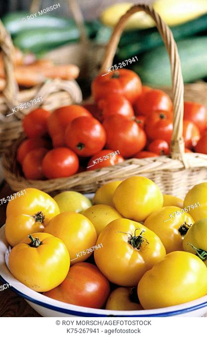 Tomatoes. Organically grown
