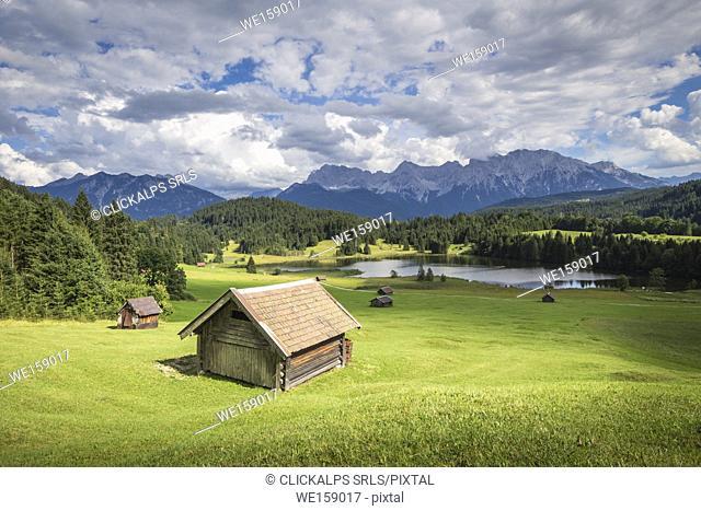 Geroldsee, Gerold, Garmisch Partenkirchen, Bayern, Germany