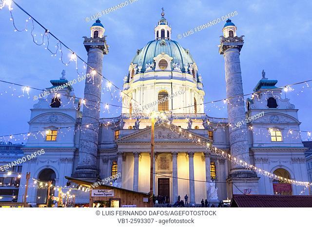 Karlskirche (St. Charles's Church)Vienna, Austria