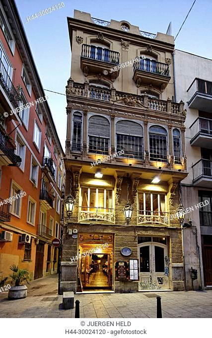 Restaurant La Mamma in Valencia, Spain