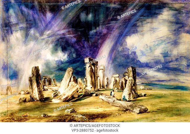 John Constable - Stonehenge -