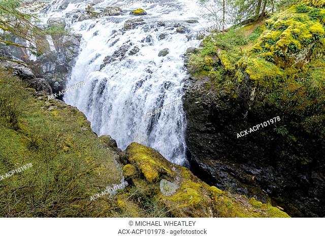 Englishman River Falls, Vancouver Island, British Columbia, Canada