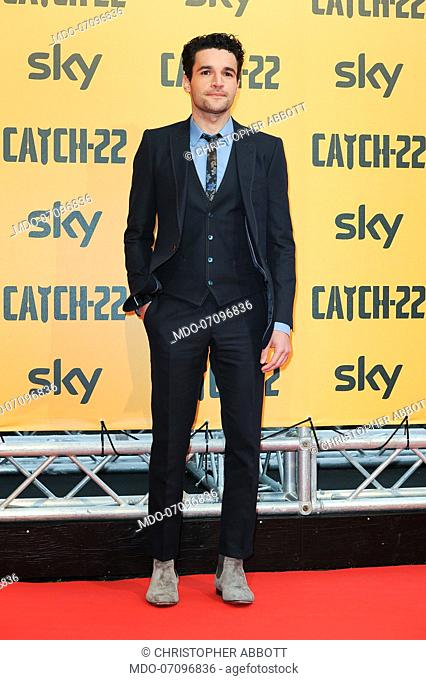 American actor Christopher Abbott attends the premiere of the Sky TV serie Catch-22. Rome (Italy), May 13th, 2019