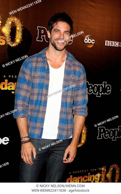 Dancing with the Stars 10 Year Anniversary Party Featuring: Brant Daugherty Where: West Hollywood, California, United States When: 22 Apr 2015 Credit: Nicky...