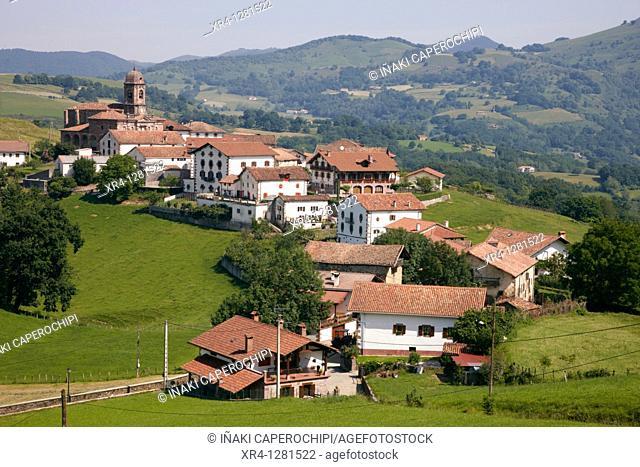 Ziga, Baztan Valley, Navarra Nafarroa, Spain España
