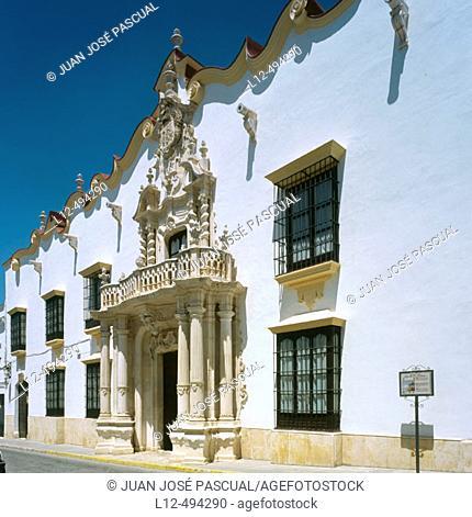 Palacio del Marqués de la Gomera (18th century), Osuna. Sevilla province, Andalusia, Spain
