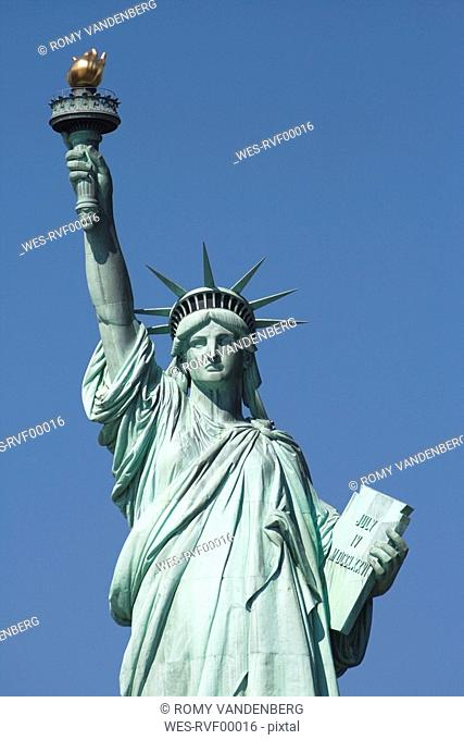 USA, New York, New York City, Statue of Liberty