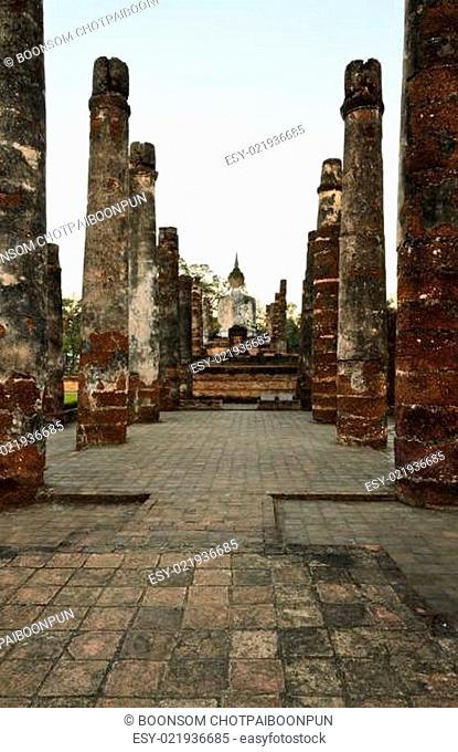 Wat Mahathat at Sukhothai Historical Park, Thailand