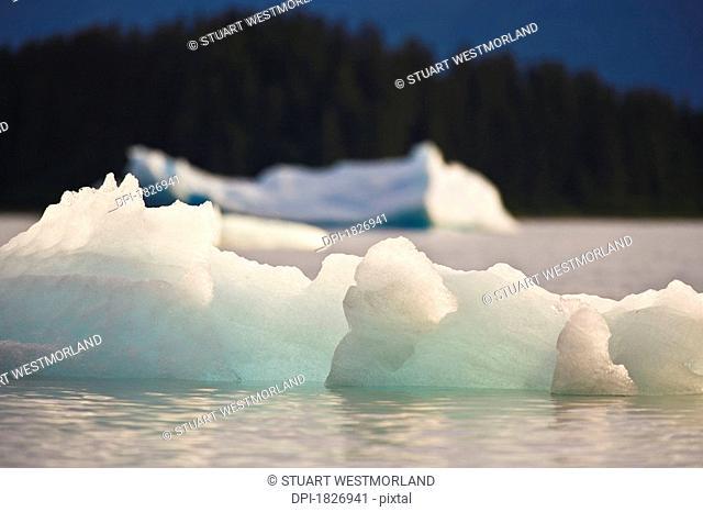 Le Conte Glacier, Southernmost Glacier in North America, Alaska, USA