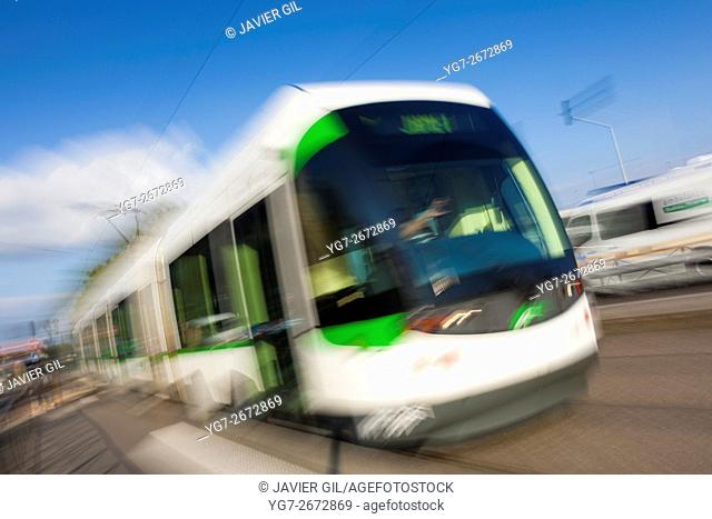 Nantes Metropole Trams, Nantes, Pays de la Loire, France