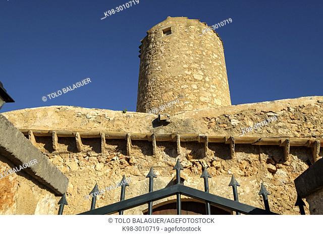 molino d'en Canals, Campos, Mallorca, balearic islands, Spain