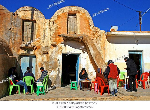 terrace, Ksar Ouled Soultan, traditional Berber architecture, Tunis