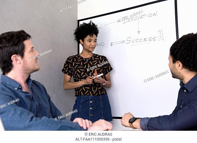 Student asking teacher question