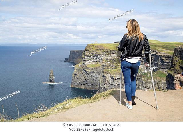 Cliffs of Moher, County Clare, Munster province, Ireland