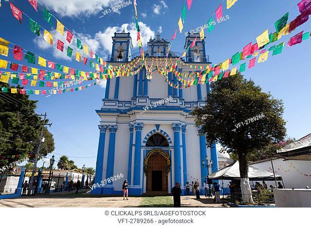Saint Lucy Church, San Cristobal de las Casas, Chiapas, Mexico