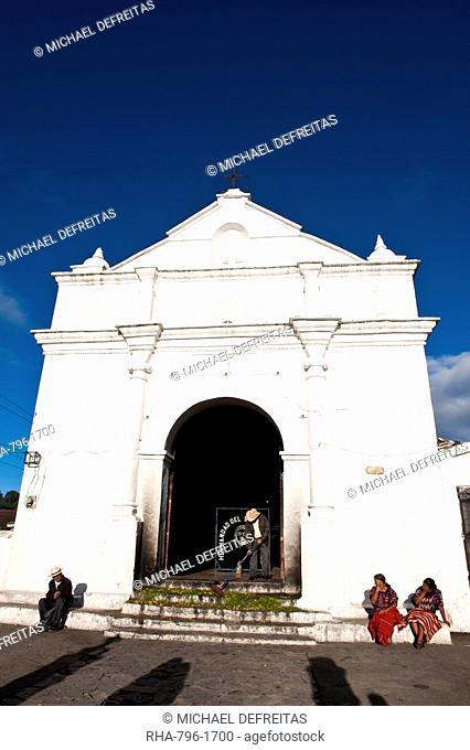 Church of Santo Tomas, Chichicastenango, Guatemala, Central America