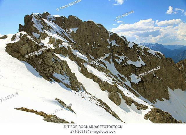 Austria, Tyrol, Alps, Innsbruck, Hafelekar, mountain scenery,